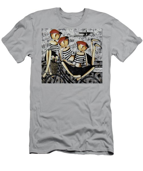 Men's T-Shirt (Slim Fit) featuring the photograph On The Way To  Paris by Yurix Sardinelly