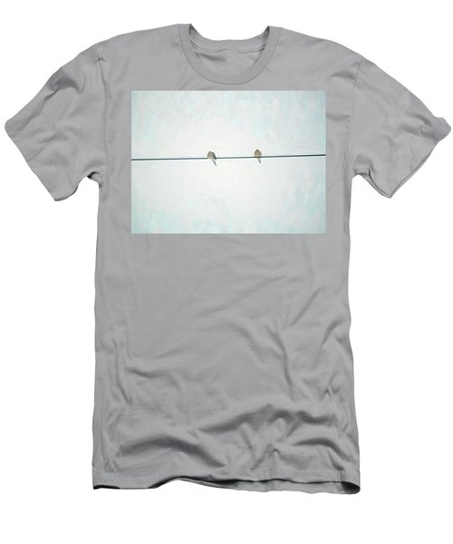 On The Wire Men's T-Shirt (Athletic Fit)