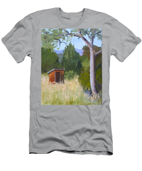 One Holer Men's T-Shirt (Slim Fit) by Susan Woodward