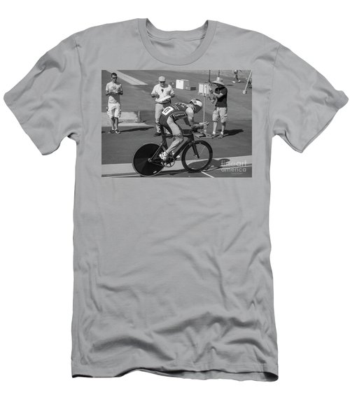One Lap To Go Men's T-Shirt (Athletic Fit)