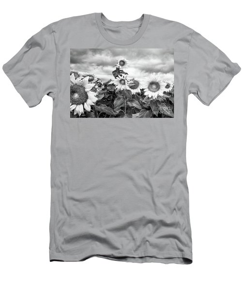 One Stands Tall Men's T-Shirt (Slim Fit) by Jim Rossol