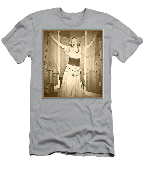 Men's T-Shirt (Athletic Fit) featuring the photograph OPA by Denise Fulmer