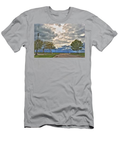 Men's T-Shirt (Slim Fit) featuring the photograph Open Heavens  by Michael Frank Jr
