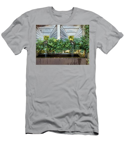 Men's T-Shirt (Athletic Fit) featuring the photograph Optical Illusion by Penny Lisowski