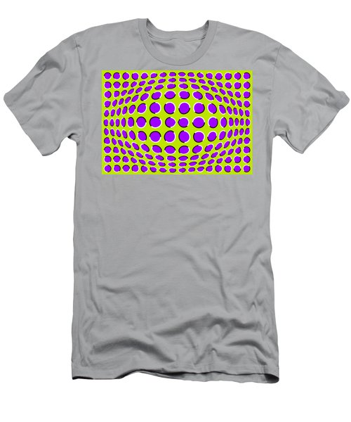 Optical Illusion The Ball Men's T-Shirt (Athletic Fit)