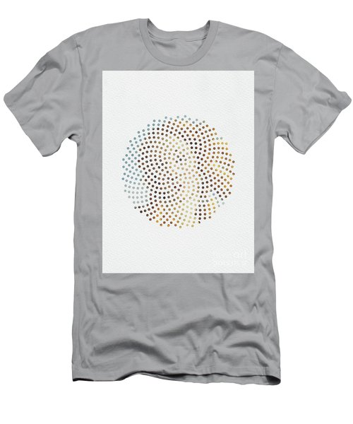 Men's T-Shirt (Slim Fit) featuring the digital art Optical Illusions - Famous Work Of Art 2 by Klara Acel
