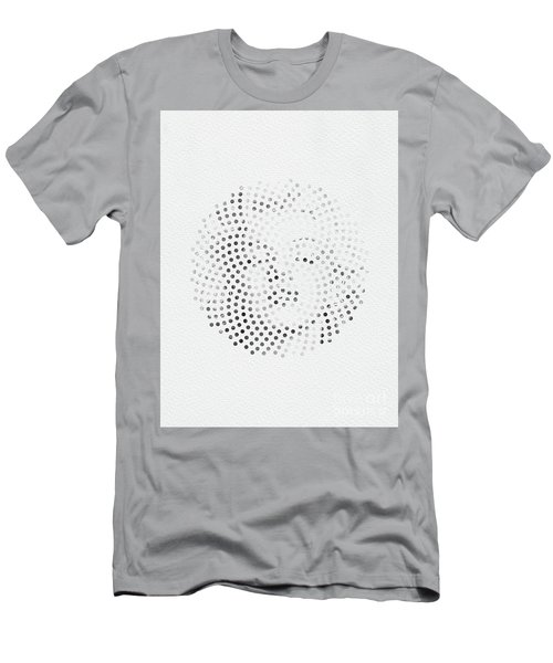 Men's T-Shirt (Slim Fit) featuring the digital art Optical Illusions - Iconical People 1 by Klara Acel