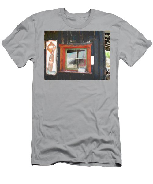 Orange Crush Orange Window Men's T-Shirt (Athletic Fit)