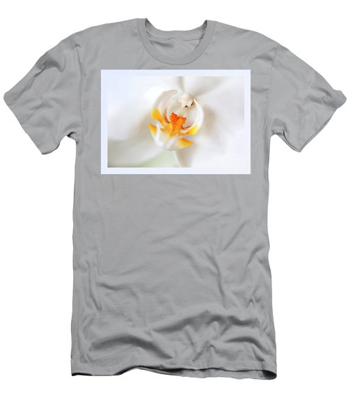 Men's T-Shirt (Athletic Fit) featuring the photograph Orchid Detail by Ariadna De Raadt