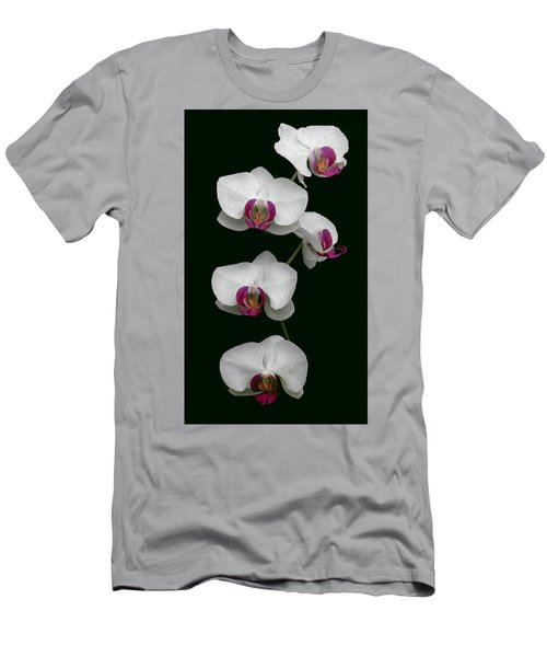 Orchid Sequence  Men's T-Shirt (Athletic Fit)