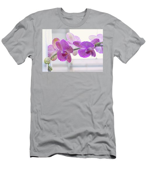 Orchid Spray Men's T-Shirt (Athletic Fit)