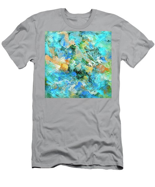 Men's T-Shirt (Slim Fit) featuring the painting Orinoco by Dominic Piperata