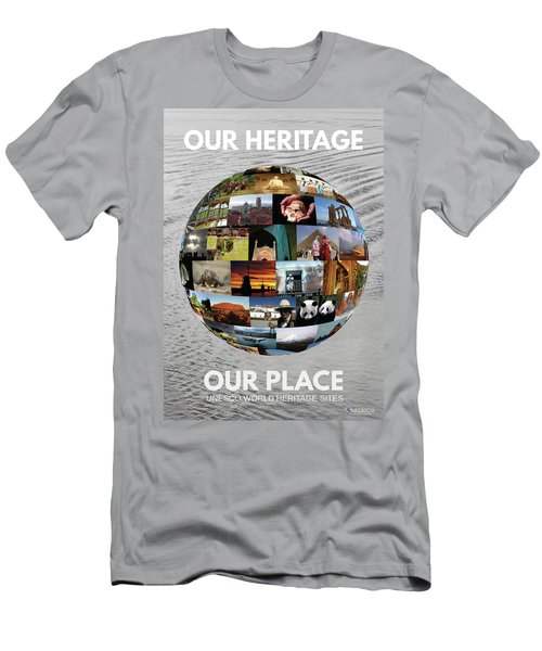 Our Heritage Our Place Men's T-Shirt (Athletic Fit)