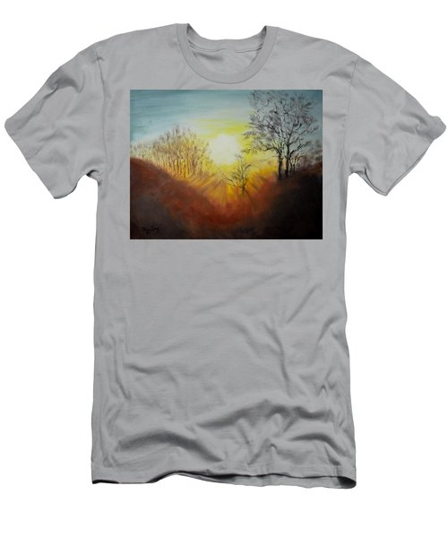 Out Of The Winter Morning Mists - 1 Men's T-Shirt (Athletic Fit)