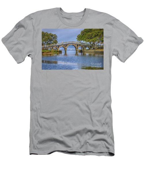 Outer Banks Whalehead Club Bridge  Men's T-Shirt (Slim Fit) by Randy Steele