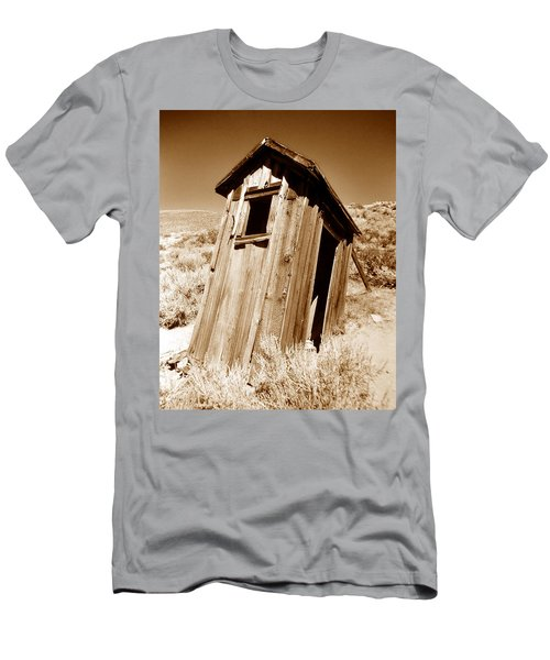 Outhouse At Bodie Men's T-Shirt (Athletic Fit)