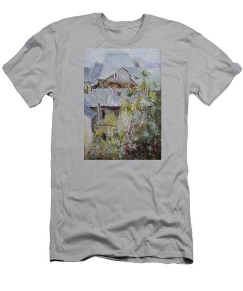 Over City Men's T-Shirt (Slim Fit) by Vali Irina Ciobanu