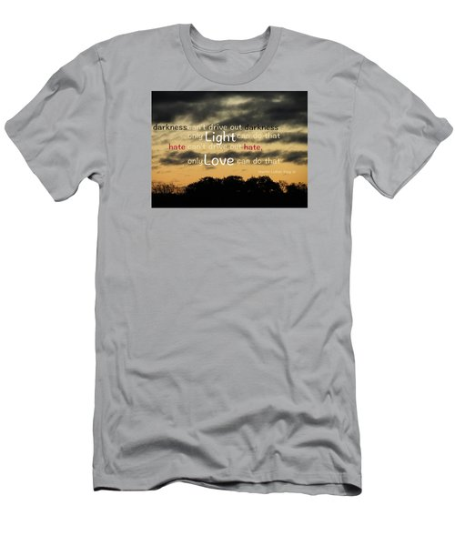 Men's T-Shirt (Slim Fit) featuring the photograph Overpowering Hate by David Norman