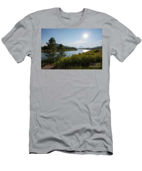 Oxbow Bend Grand Teton National Park  Men's T-Shirt (Athletic Fit)