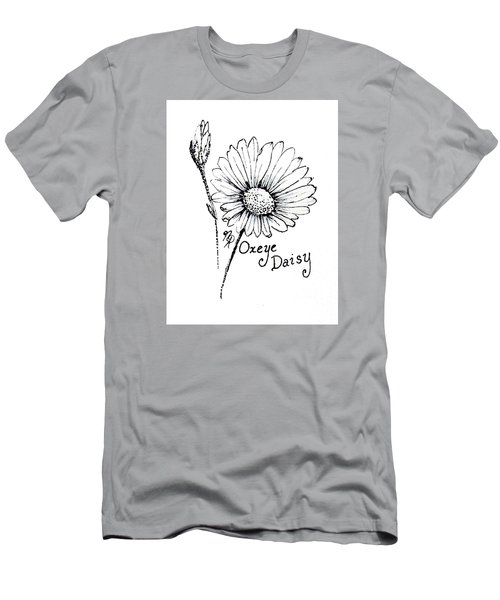 Oxeye Daisy Men's T-Shirt (Athletic Fit)