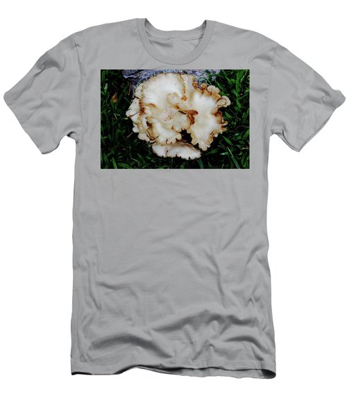 Oyster Mushroom Men's T-Shirt (Athletic Fit)