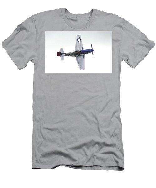 P-51 D Wing Over Men's T-Shirt (Athletic Fit)