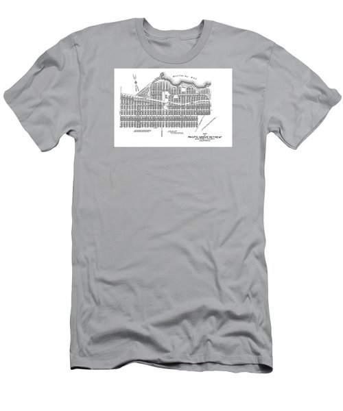 Pacific Grove May 7 1887 Men's T-Shirt (Slim Fit) by California Views Mr Pat Hathaway Archives