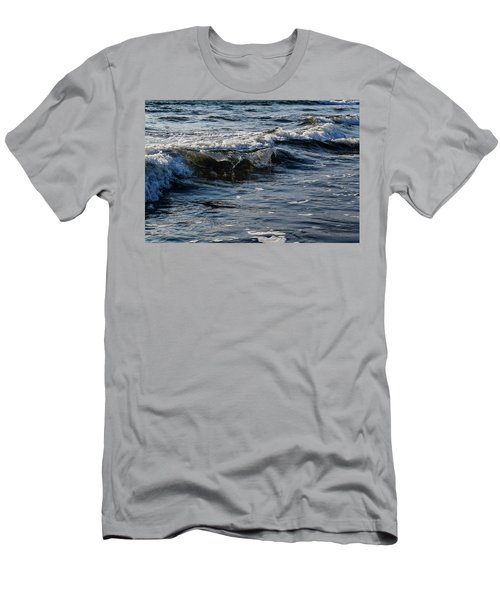 Pacific Waves Men's T-Shirt (Athletic Fit)