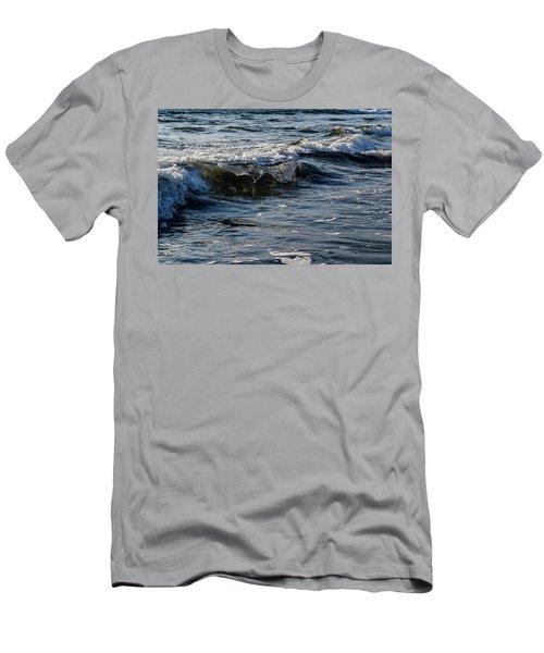 Pacific Waves Men's T-Shirt (Athletic Fit)