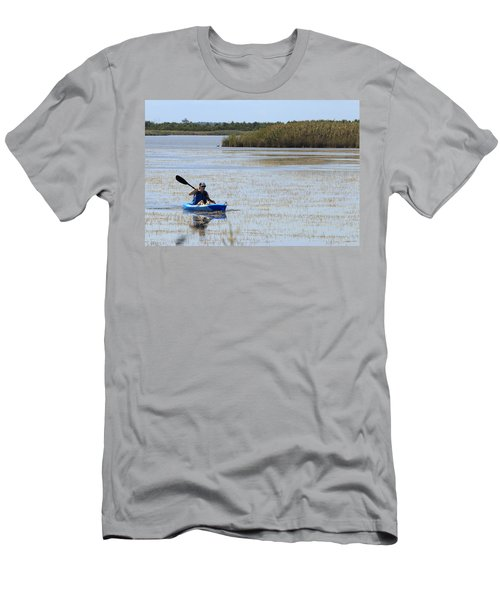 Paddle Away Men's T-Shirt (Athletic Fit)