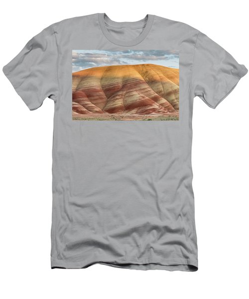 Men's T-Shirt (Slim Fit) featuring the photograph Painted Hill At Last Light by Greg Nyquist