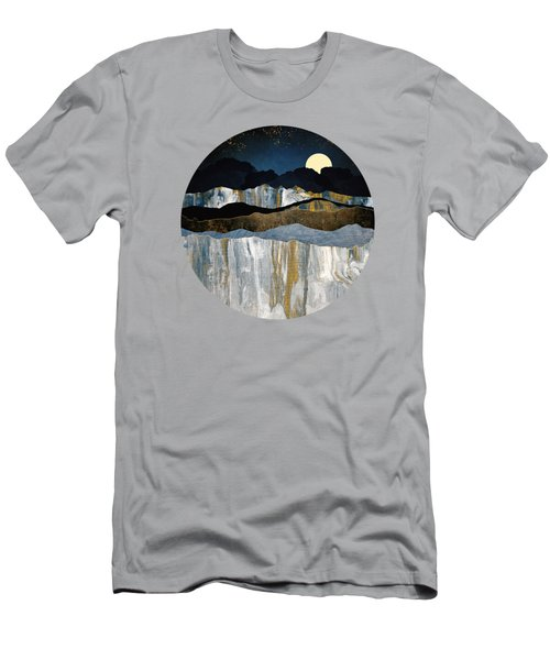 Painted Mountains Men's T-Shirt (Athletic Fit)