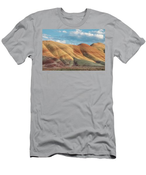 Men's T-Shirt (Slim Fit) featuring the photograph Painted Ridge And Sky by Greg Nyquist
