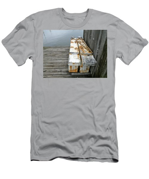 Paired Up Men's T-Shirt (Slim Fit) by Anna Ruzsan