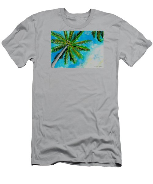 Palm In The Sky Men's T-Shirt (Athletic Fit)