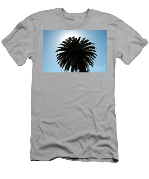 Palm Tree Silhouette Men's T-Shirt (Athletic Fit)