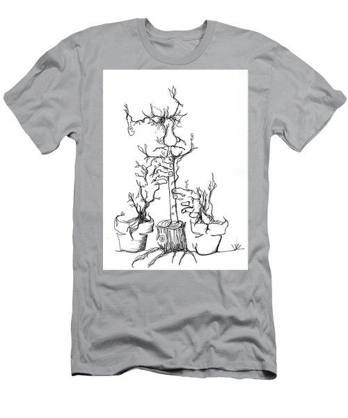 Pan's Fried Flute Men's T-Shirt (Athletic Fit)
