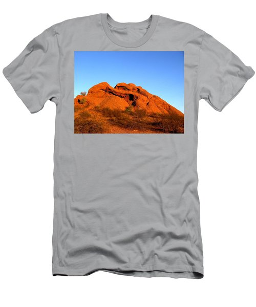 Men's T-Shirt (Athletic Fit) featuring the photograph Papago Park 2 by Michelle Dallocchio
