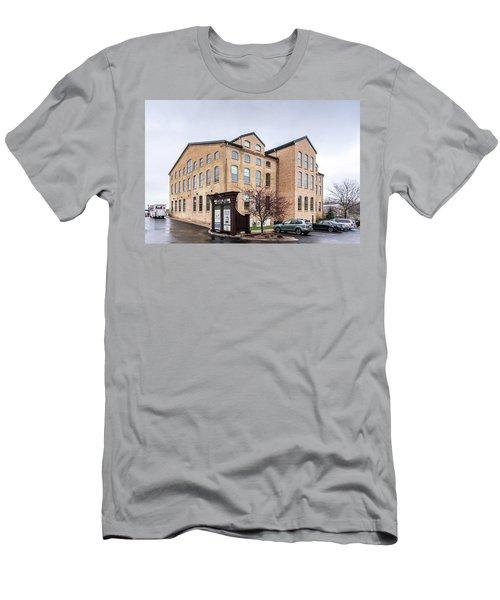 Paper Discovery Center Men's T-Shirt (Slim Fit) by Randy Scherkenbach