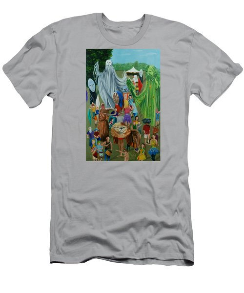Paperhand Puppet Parade Men's T-Shirt (Athletic Fit)