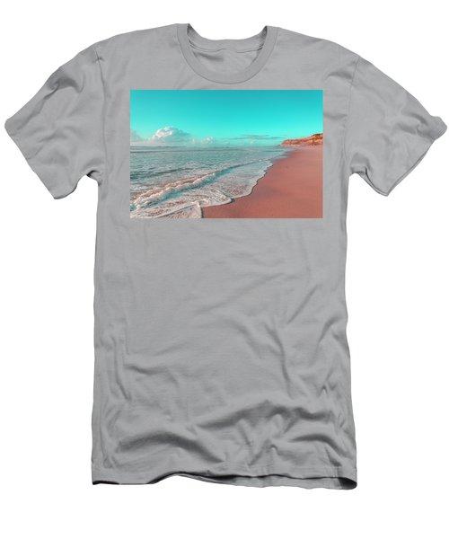 Paradisiac Beaches Men's T-Shirt (Athletic Fit)