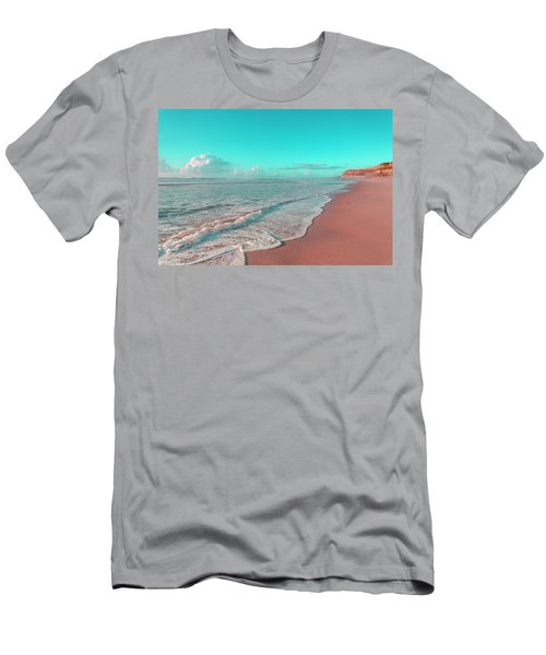 Paradisiac Beaches Men's T-Shirt (Athletic Fit)