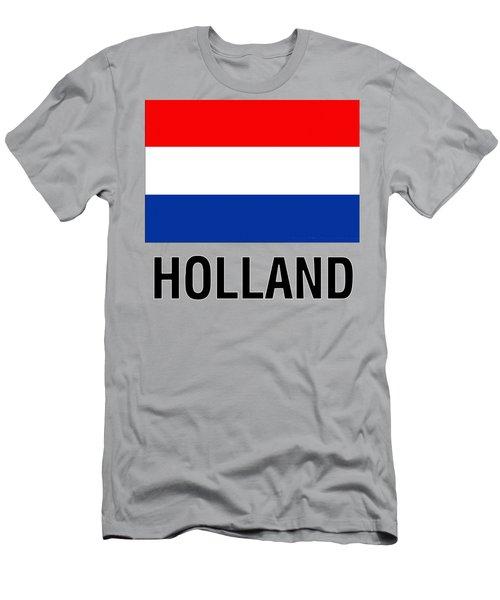 Parchment Flag Holland Men's T-Shirt (Athletic Fit)