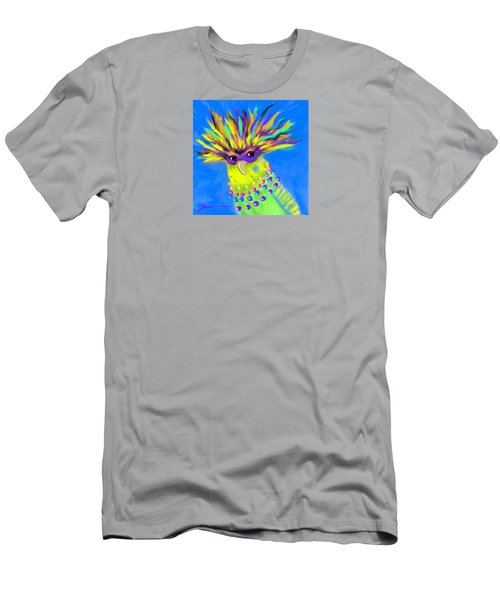 Men's T-Shirt (Slim Fit) featuring the digital art Party Animal by Jean Pacheco Ravinski