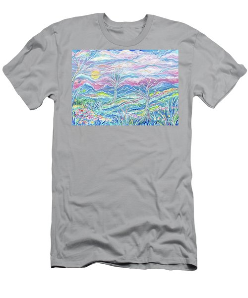 Pastel Country Men's T-Shirt (Athletic Fit)