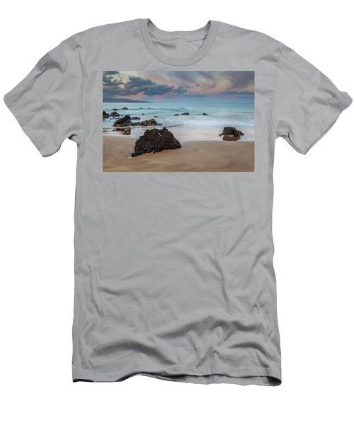 Pastel Hawaii Sunrise Men's T-Shirt (Athletic Fit)