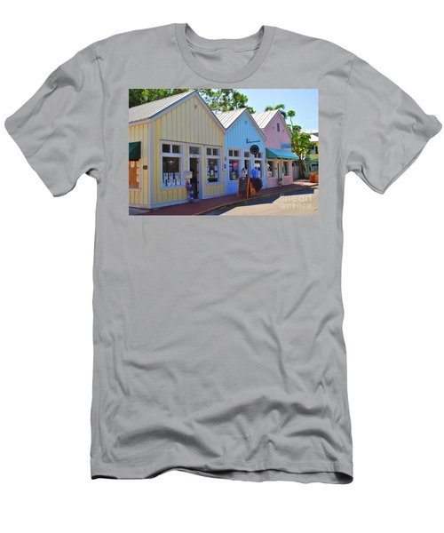 Men's T-Shirt (Athletic Fit) featuring the photograph Pastel Row by Jost Houk