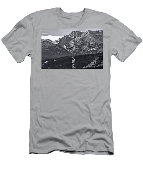 Men's T-Shirt (Slim Fit) featuring the photograph Path To Longs Peak by Dan Sproul