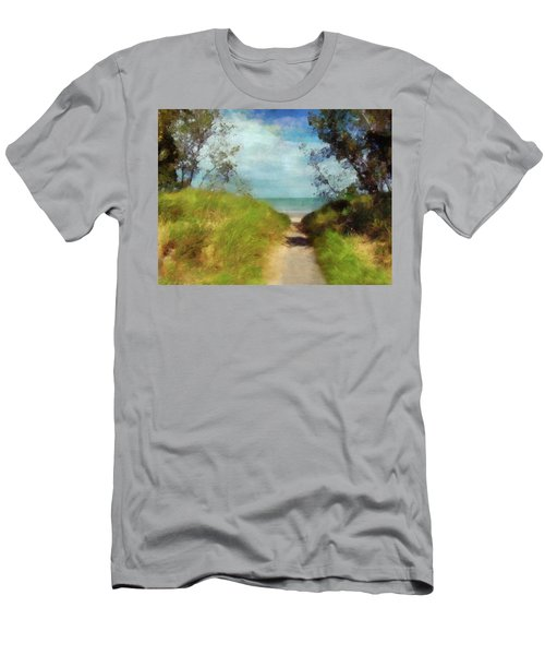 Path To Whihala Beach 2 Men's T-Shirt (Athletic Fit)