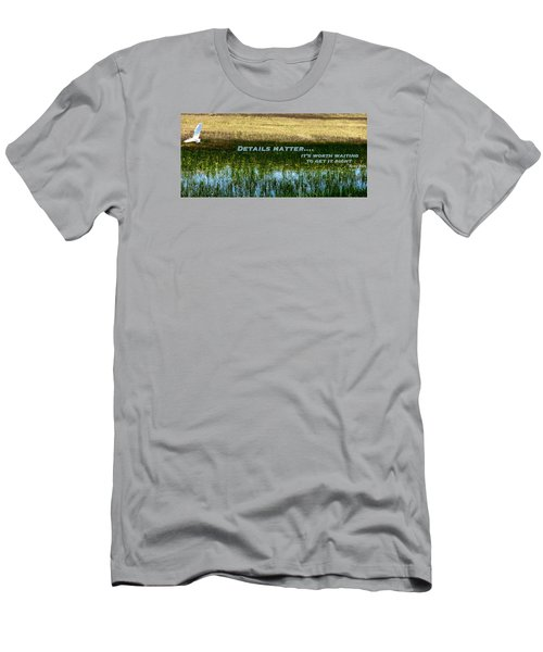 Men's T-Shirt (Slim Fit) featuring the photograph Patience  by David Norman